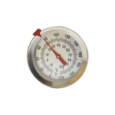 Термометр механический с щупом 20 см с держателем